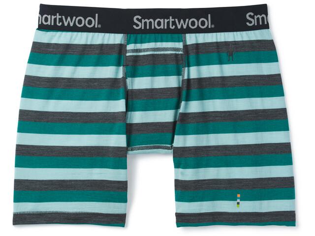 Smartwool Merino 150 Boxer Briefs Men pacific stripe